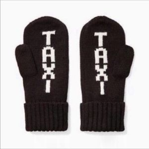 Kate Spade Taxi Mittens NEW